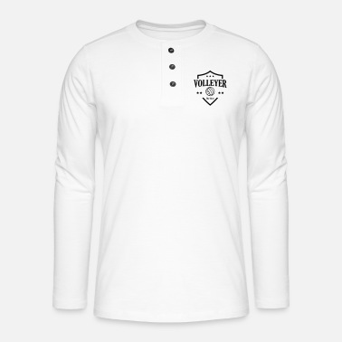 Volleyer Volleyer - Henley long-sleeved shirt