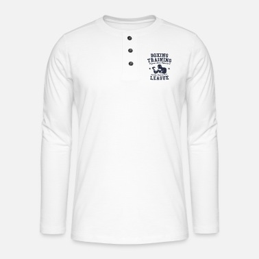 Boxing Training boxing training - Henley long-sleeved shirt