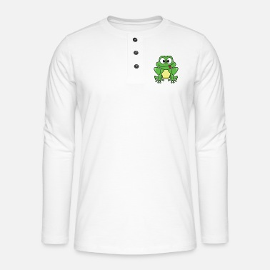 Grenouille grenouille - T-shirt manches longues Henley
