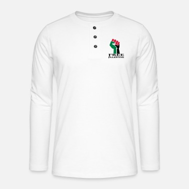 Palestine palestine - Henley long-sleeved shirt