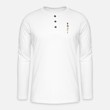 Match match - Henley long-sleeved shirt