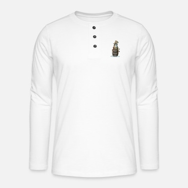 Rat - Henley long-sleeved shirt