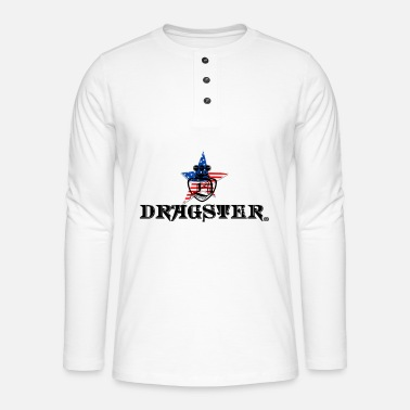 Wear DRAGSTER WEAR - T-shirt manches longues Henley