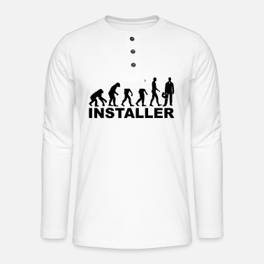 Installer Installer - Henley long-sleeved shirt