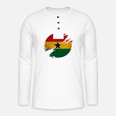 Kumasi Ghana district - Henley long-sleeved shirt