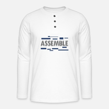 Assembled Assemble - Henley long-sleeved shirt