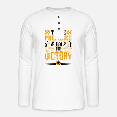 Playing Are no elevators in the house of success - Henley long-sleeved shirt