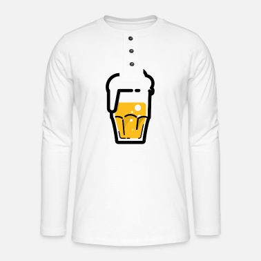 Beer Beer / beer - Henley long-sleeved shirt