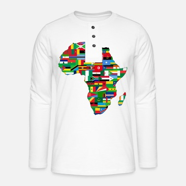 Africa africa collection - Henley long-sleeved shirt