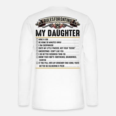 Daughter father and daughter - Henley long-sleeved shirt