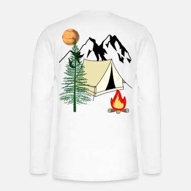 Pilgrim Campfire Expedition Adventure Outdoor Trip - Henley long-sleeved shirt