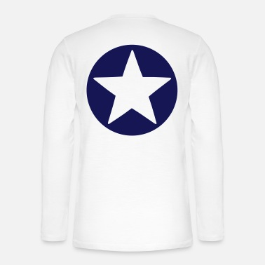 Icon Shape Choose your design color! Icon Star Logo Pattern - Henley long-sleeved shirt