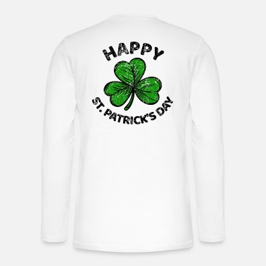 Lucky Charm St. Patricks Day congratulations saying Patty Paddy - Henley long-sleeved shirt