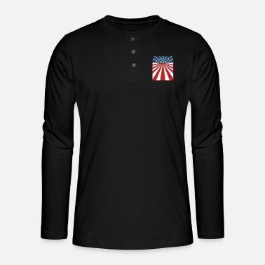 Baseball Drapeau US 4th juillet Standard Unisexe T-Shirt