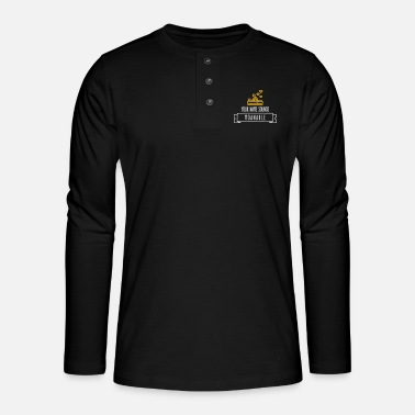 Your Name Sounds Moanable! - Henley long-sleeved shirt