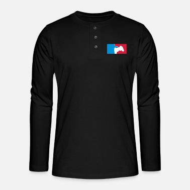Esport ESPORT - Henley long-sleeved shirt