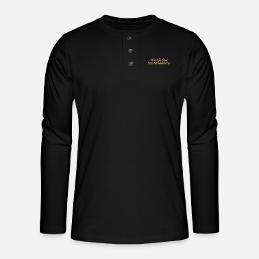 Site Site Administrator - World's best site - Henley long-sleeved shirt