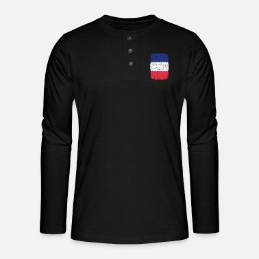 Home Country roots home country roots home France - Henley long-sleeved shirt