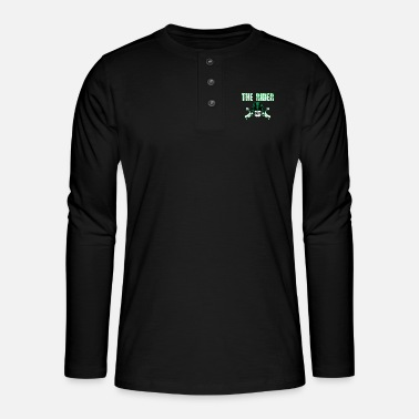 Wear The Awesome & Cool Rider Tshirt The Rider - Henley long-sleeved shirt