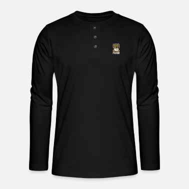 Pokerchips Poker Pokerface Pokertunier All In - Henley Langarmshirt