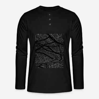 Chaos chaos - T-shirt manches longues Henley