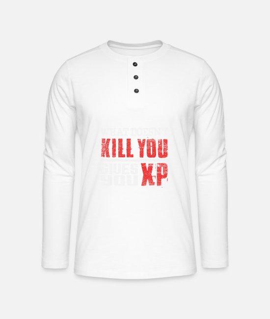 Gaming Henley langermet T skjorte | Spreadshirt