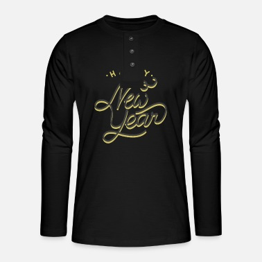New Year 2020 - Henley long-sleeved shirt