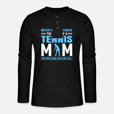 Tennis Moms - Henley long-sleeved shirt