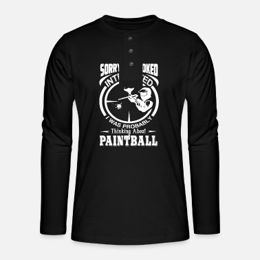 Paintball Paintball Denken over Paintball - Henley shirt met lange mouwen