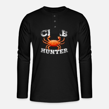 Creature Crab animal lover - Henley long-sleeved shirt