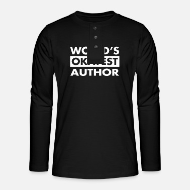 Award FUNNY AUTHOR TEA - Henley long-sleeved shirt