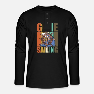 Gone sailing vintage sailors - Henley long-sleeved shirt