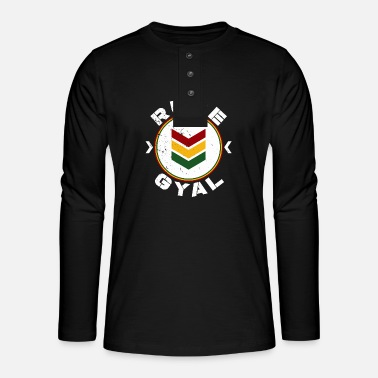 Rude Gal Rude Gyal - Henley long-sleeved shirt