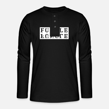 Funny For fun uncle, funny for uncle - Henley long-sleeved shirt