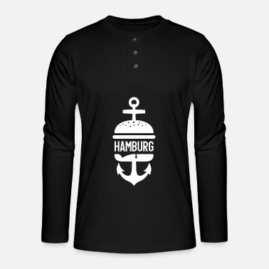 Hamburg HAMBURG HAMBURGER - Henley long-sleeved shirt