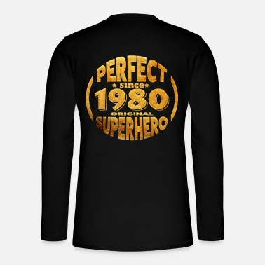 Year Of Birth 1980 year of birth - Henley long-sleeved shirt