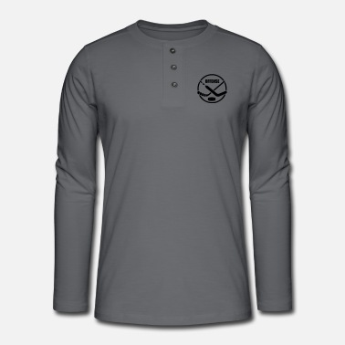 Offensive Hockey offense - Henley long-sleeved shirt