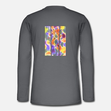 Jewelry Abstract Art Neuro Art Blades of Grass 4 - Henley long-sleeved shirt