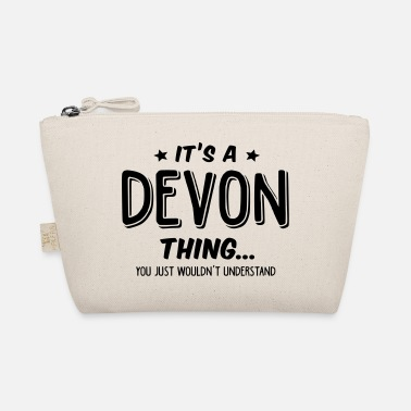 Name devon its a name thing - The Wee Pouch