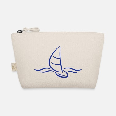 Boad Sport Sailing Boad And Waves Logo - Tasje