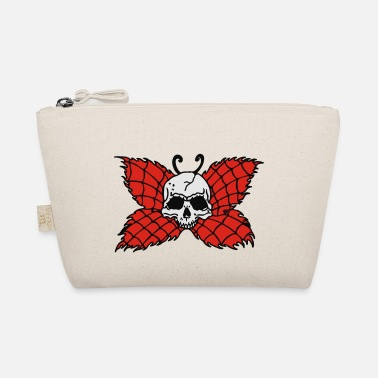 Gott Hölle Poison Butterfly Skull Tattoo - The Wee Pouch