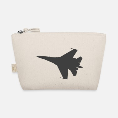 Fighter Jet Military fighter jet plane jet silhouette - The Wee Pouch