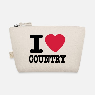 Country i love country / i heart country - Liten väska