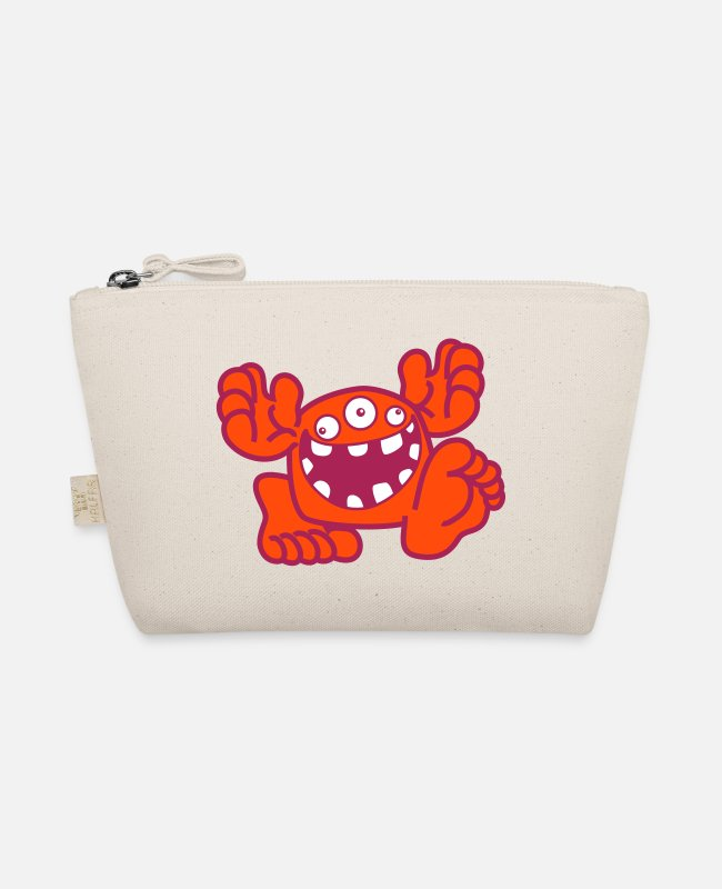 Art Bags & Backpacks - Proud To Be A Monster Cartoon by Cheerful Madness! - The Wee Pouch nature