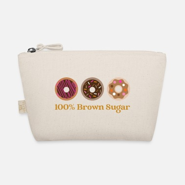 100% Brown Sugar, Doughnuts. Do Nut Worry. The doughnut - The Wee Pouch
