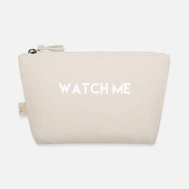 Atention Watch Me, T-Shirt Spruch - Täschchen