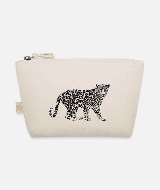 Proud Bags & Backpacks - Cheetah leopard black predator big cat jaguar - The Wee Pouch nature