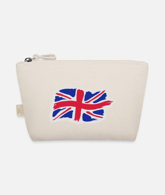 Great Britain Bags & Backpacks - unionjackbrush2 - The Wee Pouch nature