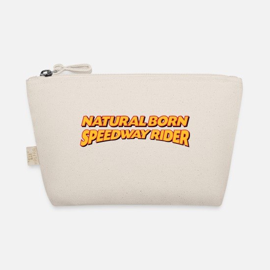 Speedway Bags & Backpacks - Natural born speedway rider 3col - The Wee Pouch nature