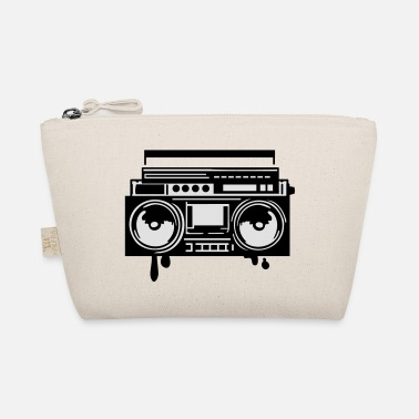 Stereo stereo ghettoblaster boomblaster - The Wee Pouch